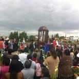procesión virgen cholula